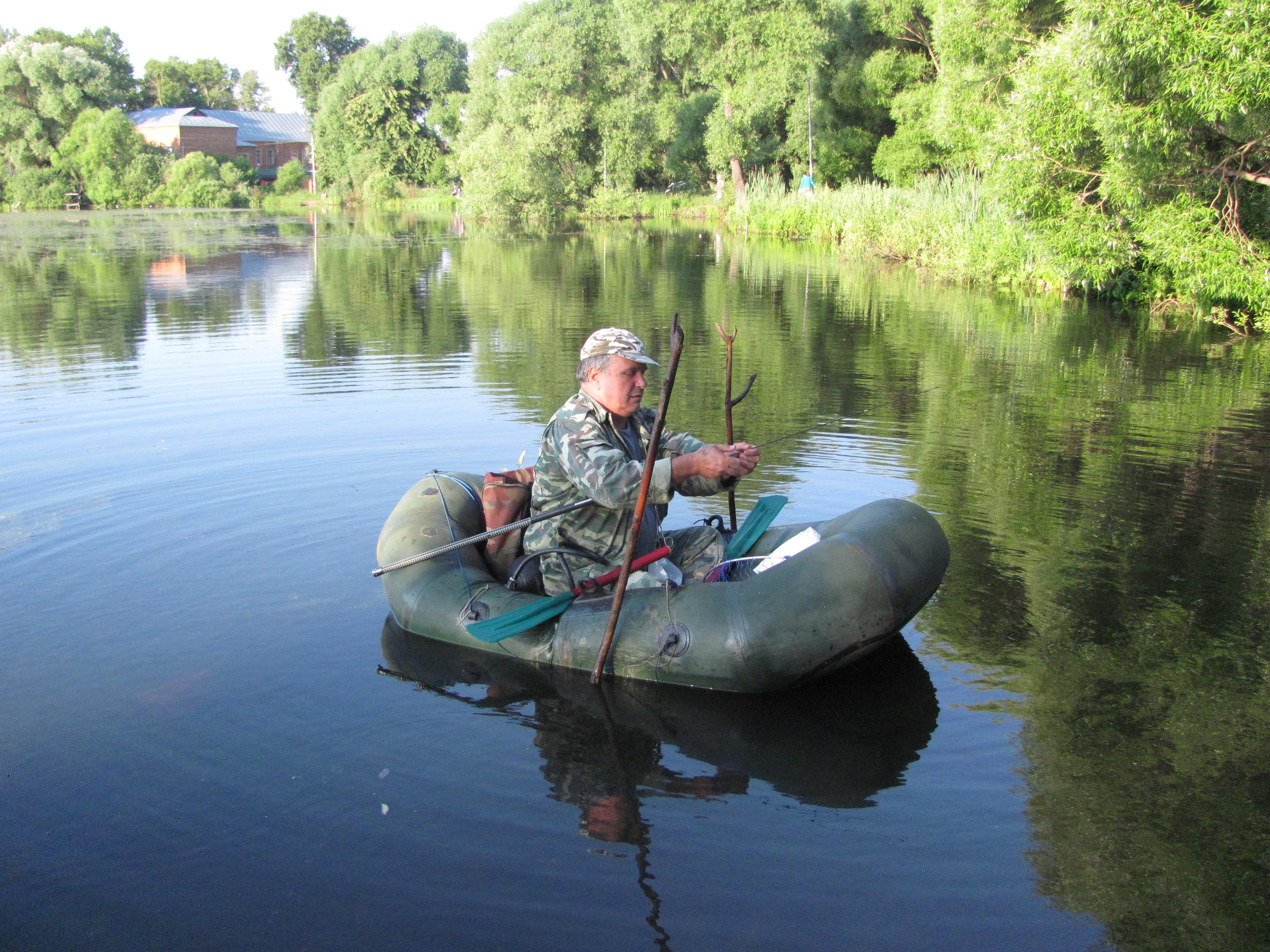 Рыбалка на озере киово